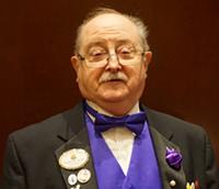 Ronald Ayers Grand Patron General Grand Chapter Committee Member No 5